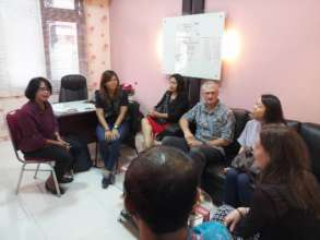 Meeting with East Java Law Enforcement