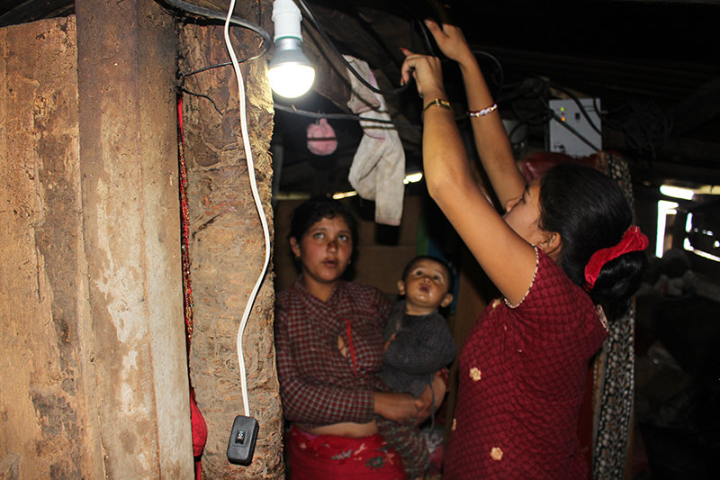 Bring Light to Isolated Villagers in Nepal