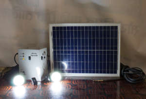 Home Solar Lighting System Set