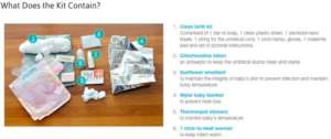 Integrated Newborn Kit Contents