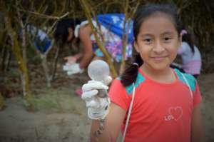 Clara Luna participates in community initiatives