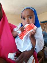 You helped save her from severe malnutrition!