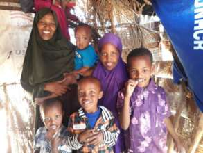Thank you for feeding Xaliim and her children!
