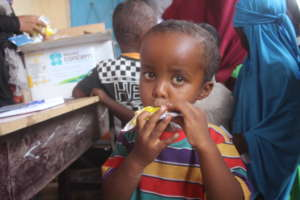 Instant Nutrition for a Hungry Child