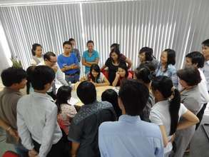 Workshop for local NPOs