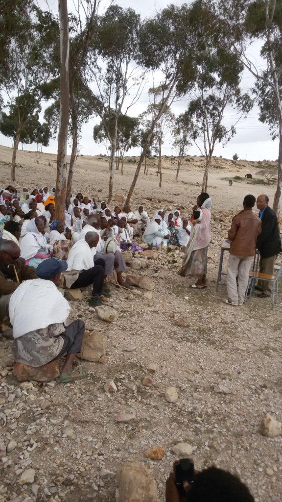 Provide Drinking Water to 4600 People in Mealewya