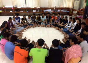 """Training for Peace"" with Christian students"
