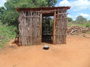 ECD shelter constructed by mothers  toshild childr