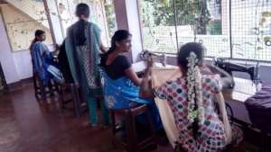 Finding support and friends at sewing centre