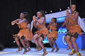 Girls of Rockies Performing