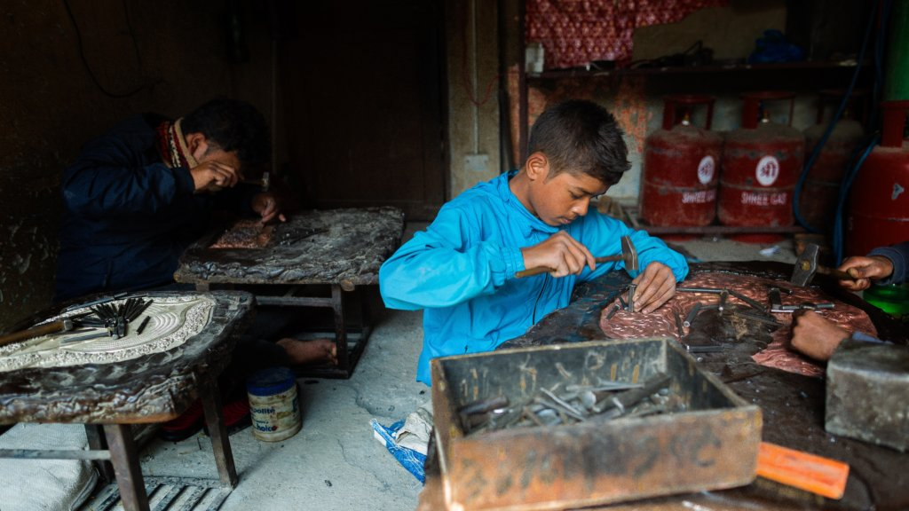 A fund to rescue children from slavery in Nepal