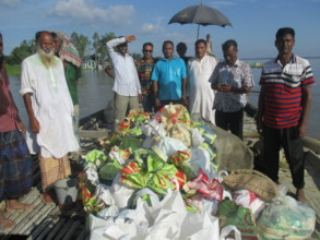 Emargency relief materials for Flood Victims
