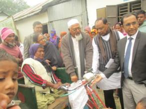 Honarable National Parliament Bangladesh distribut
