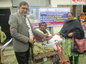 Damaged Recovery Materials Distribute into Disable