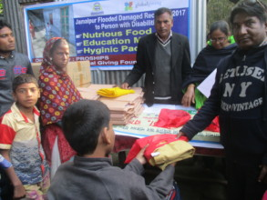 Distribute Materials into Adolescent with Disable