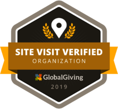 Badge on site Visit verified from Global Giving