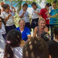 StS Volunteers -- Sandy (left); Grace (right)