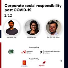 CSR webinar during the 2020 Rio Oil & Gas event
