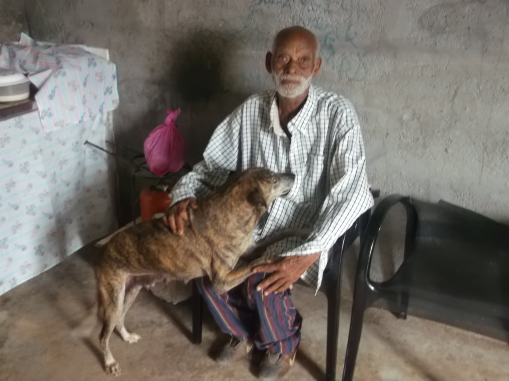 Pet therapy for handicapped people in Cape Verde