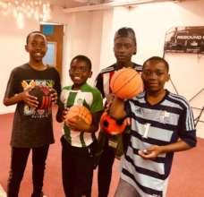 Soccer and basketball!