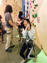 Indoor Rock Climbing!