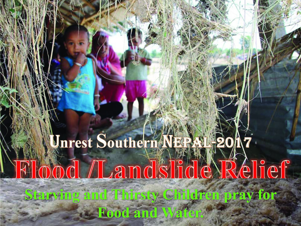 Help Feed 350 Flood Affected Kids in Nepal