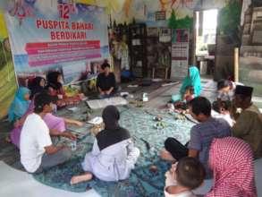 Meeting Puspita Bahari with women fisheries