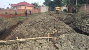 Dec. 9: Construction crews digging the foundation