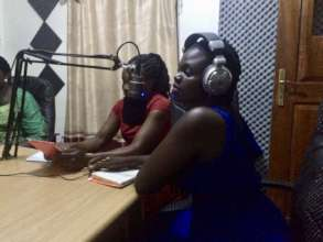 First Lutino Waa radio show with Esther and Kevin