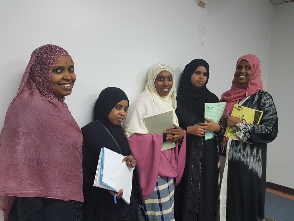 Break Language Barriers, Refugee Women Edmonton