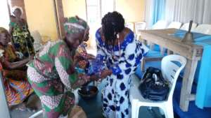 SHARING OF GIFT TO THE WOMEN