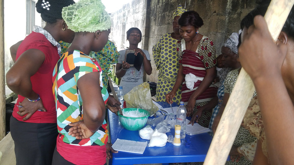 Empowering 250 Young Women in Nigeria