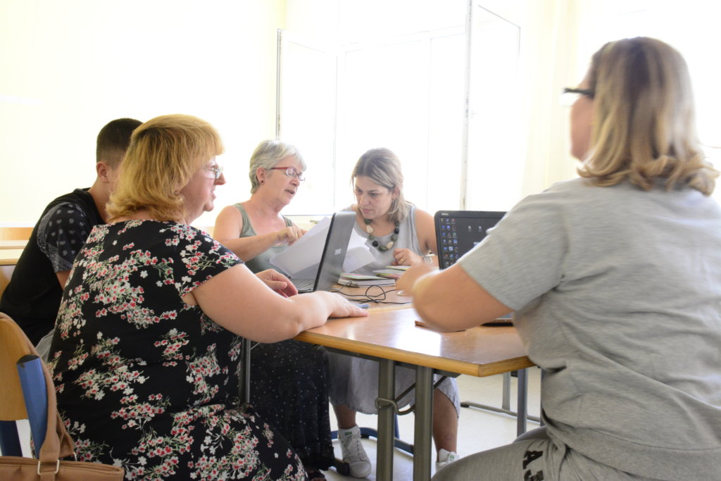 Adaptive Technology for Blind Teacher in Albania