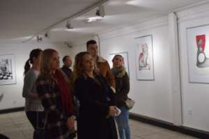 Exibition of work from our IV Feminist art colony