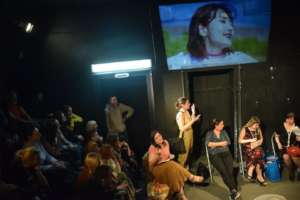 """Theatar play ,,Invisible 45+"""" - Labor rights"""