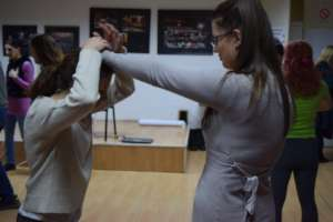 Practical education - self defence