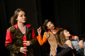 Theatre play an ,,Emotional being''