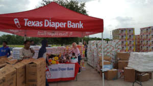 Photo from Texas Diaper Bank