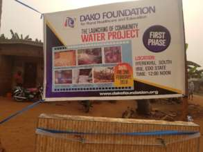 Commissioning of the First phase of water project