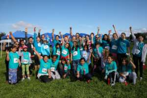 The Wellness Run/Walk is 'cool' to local girls