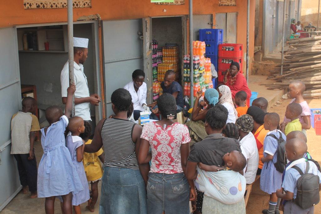 Sanitation and Hygiene Training in Kampala Slums