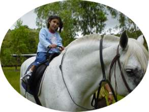 Horse Therapy Builds Confidence