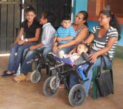 Mothers Attend Assembly for Horsetherapy
