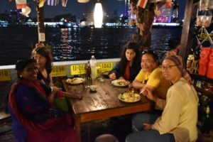 A Last Night Together on the Chao Phraya River