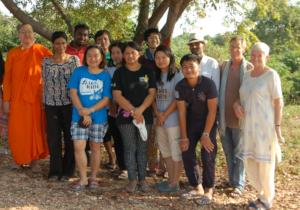 The 2017 SENS Cohort Visiting an Inspiring Leader