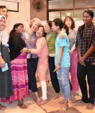 Tearful Goodbyes to a Beloved Tutor - SENS 2019