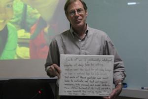Director Ted's message at MU Seminar
