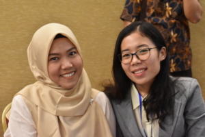 SENS alumni Khudoh & Dewi at Solo, Indonesia Forum
