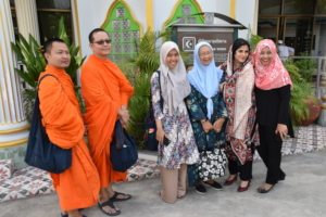 Participants with Hosts at Kamalun Islam Mosque