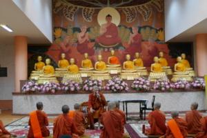 Students Visit Ven. Dhammananda's Monastery